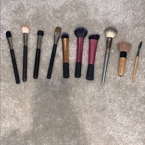 MAC | Sephora | Real Techniques | Makeup Brush Set